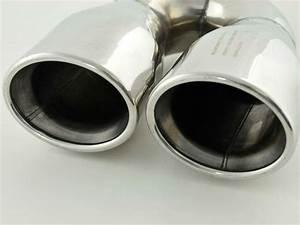 Embout Echappement Double : embout echappement en inox double sortie 2x 63mm x 90mm et ~ Voncanada.com Idées de Décoration