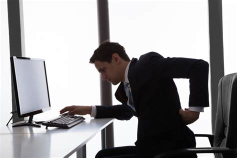 are you sitting comfortably how your chair can cause back