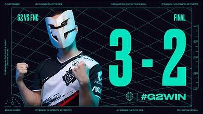 Lec G2 Win Esports Finals Defeat Fnatic