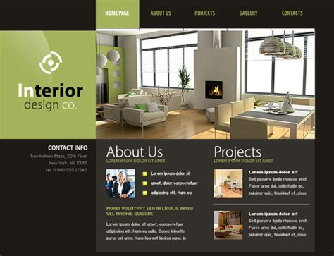 home design websites 30 free flash web templates web3mantra