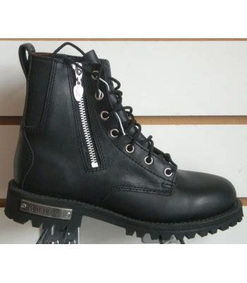 ladies black motorcycle boots red wing 1668 lace up zip ladies black motorcycle boots