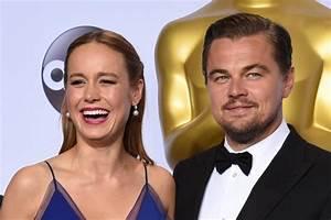 Brie Larson y Leonardo DiCaprio serán los presentadores de ...