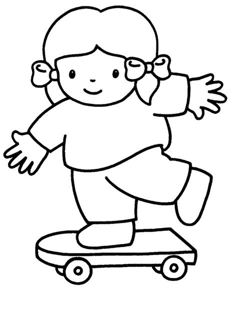 Il est élu questeur (fonction qu'il exerce en espagne) et épouse la fille de sylla afin de se rapprocher de pompée, il vote par ailleurs la lex gabina qui confère à pompée un important impérium, puis en 65 av. Coloriage Fille skateuse facile dessin gratuit à imprimer