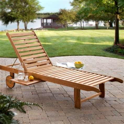 plans  wooden chaise lounge woodworking projects plans