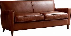 AllModern Custom Upholstery Foster Leather Sofa Reviews