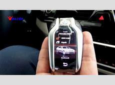 BMW 520 Ekranlı anahtar Display Key YouTube