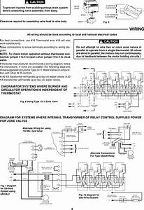 White Rodgers Zone Valve Wiring Schematic
