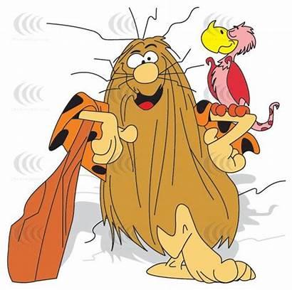 Caveman Captain Cartoon Cartoons Classic Clip Characters