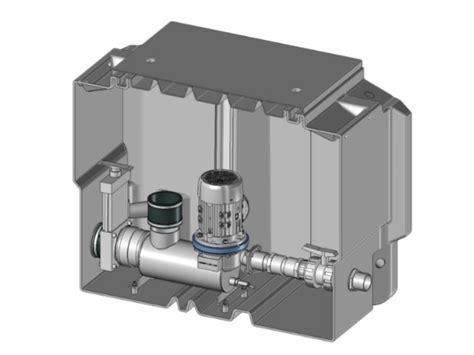 micro station de relevage eaux usées micro station de relevage en ligne directe dominox