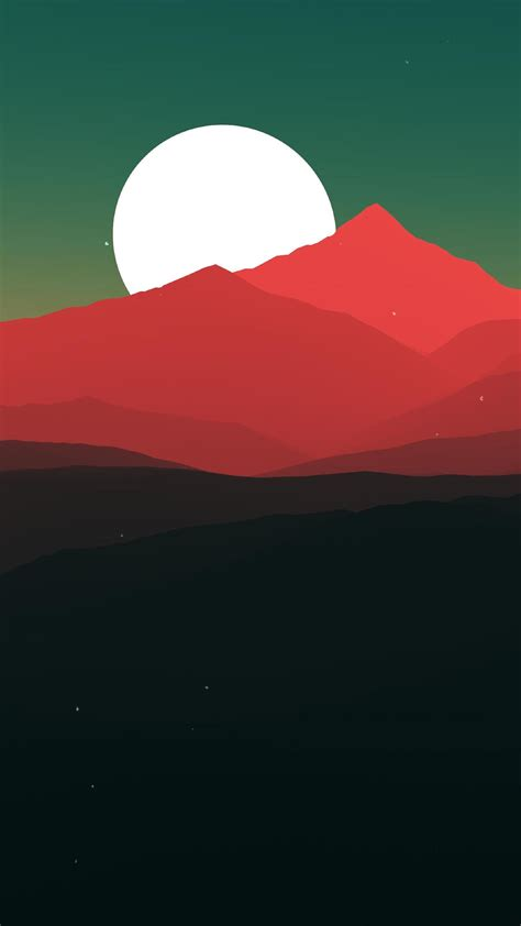 minimalist landscape hd  wallpaper
