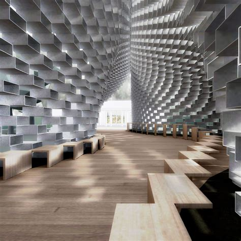 Virtually Build A House Photo Gallery by Bjarke Ingels Serpentine Gallery Pavilion Revealed On