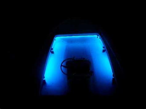 Under Gunnel Led Boat Lights by Flo Led Boat Lights Under Gunnel Boat Lighting Youtube