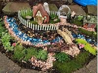fine fairy garden design Whimsical Outdoor Fairy Garden | Wearefound Home Design