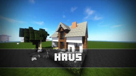 Minecraft Haus Bauen!  Einfamilienhaus Minecraft