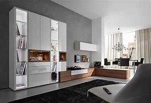 Schrankwand Mit Integriertem Schreibtisch : schrankwand bilder ideen couch ~ Watch28wear.com Haus und Dekorationen