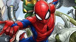 Marvel's Spider-Man Animated Series Reveals New Promo Art ...