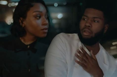 Normani Gives Khalid A Private Peep Show In The