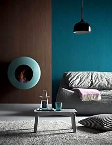 Tapis Salon Bleu Canard : salon bleu p trole bleu canard et bleu paon ~ Melissatoandfro.com Idées de Décoration