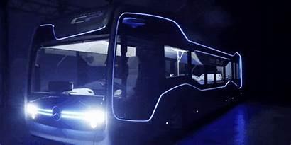 Bus Mercedes Future Autonomous Benz Amsterdam Through
