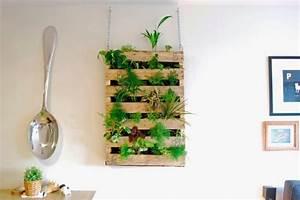 Mur Végétal Intérieur Ikea : le mur v g tal en palette id es originales pour un ~ Dailycaller-alerts.com Idées de Décoration