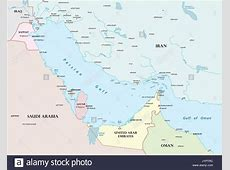 Map Of Bahrain Stock Photos & Map Of Bahrain Stock Images
