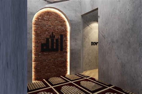 inspirasi desain ruang mushola  rumah