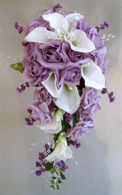 cascading bouquets ideas  pinterest trailing