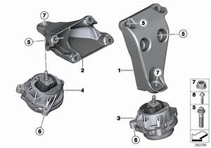 Bmw 320i Engine Supporting Bracket  Right  Suspension