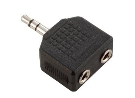 3 5mm klinkenbuchse adapter klinkenstecker 3 5mm stereo auf 2x klinkenbuchse 3 5mm g 252 nstig kaufen bei huss