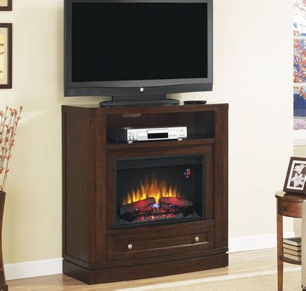 entertainment system with fireplace 40 quot wesleyan meridian cherry convertible entertainment 7069
