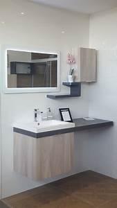 Meuble Salle De Bain Moderne : meuble de salle de bain moderne sols concept ~ Nature-et-papiers.com Idées de Décoration