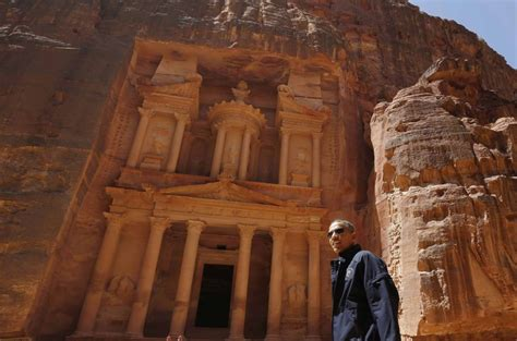 President Obama Ends Middle East Trip With Visit To Petra