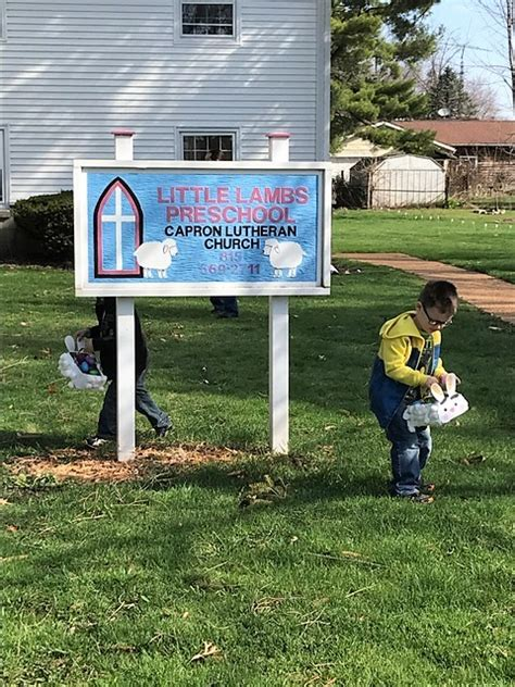 lambs preschool capron lutheran church 501 | Little Lambs Easter pic 3