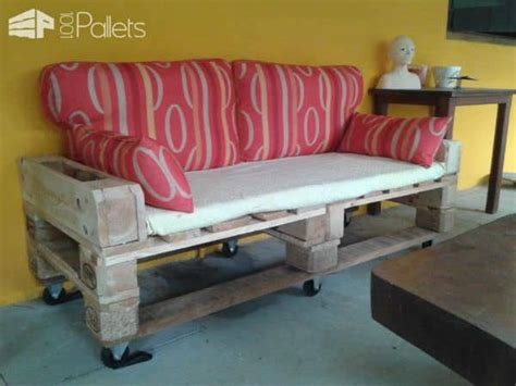 canapé palettes canapé de jardin en palettes pallets garden sofa 1001