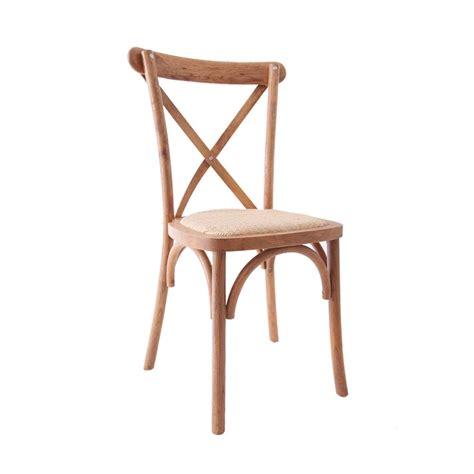 assise chaise chaise cross back imexia vente et location de mobilier