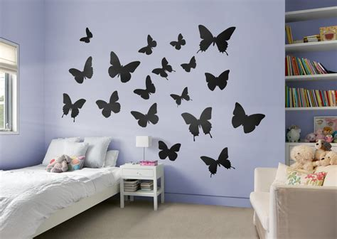 Home Interior Butterflies : Shop Fathead® For Thematic Shapes