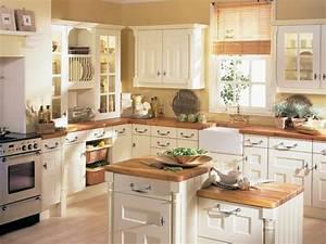 cuisine ancienne pour un interieur convivial et chaleureux With kitchen cabinets lowes with papier peint brique blanche