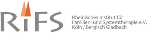 Rifs, Weiterbildung Systemische Beratung Köln Bonn ...