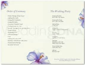 wedding program templates free and wedding program templates a batty