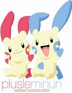 Pokemon Love Plusle And Minun Images | Pokemon Images