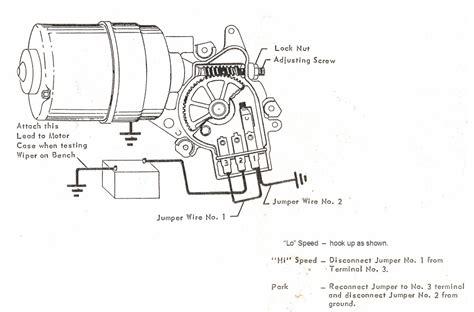 1970 Wiring Diagram Chevy Wiper Motor by 2 Speed Wiper Motor Testing Chevytalk Free Restoration