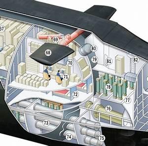 Astute Class Submarine Cutaway