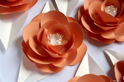 deco fleur en papier cr 233 ation fabrication de fleurs en papier pour une d 233 coration 233 v 233 nementielle fleur en papier