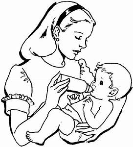 Baby Coloring Pages To Print - AZ Coloring Pages