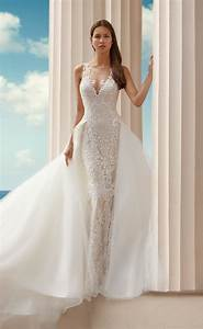 stunning wedding dresses with overskirts With over skirt wedding dress