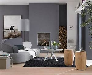 Schöner Wohnen Wandfarbe Grau : wohnzimmer in der trendfarbe grau sch ner wohnen ~ Bigdaddyawards.com Haus und Dekorationen