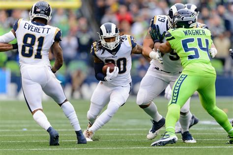 la rams  seattle seahawks report card turf show times