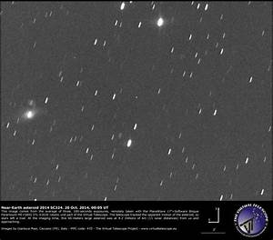 Near-Earth Asteroid 2014 SC324 coming close: a image and ...