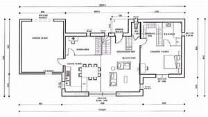 Plan Maison A Etage : maison etage partiel plan ~ Melissatoandfro.com Idées de Décoration