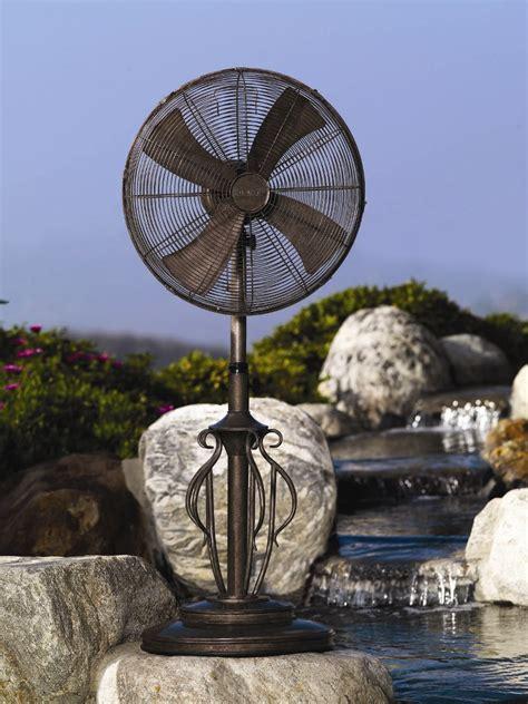 dbf capri outdoor patio fan floor standing outdoor